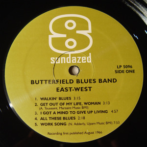 Paul Butterfield - East West (label_A)