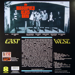 Paul Butterfield - East West (rear)